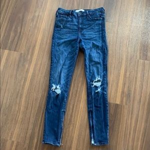 Abercrombie & Fitch High Waisted Skinny Jeans